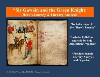 sir gawain and the green knight annotation organizer knight sir gawain and the green knight annotation organizer