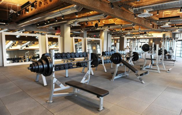 Standard fitness gym size home 健身区 in 2019