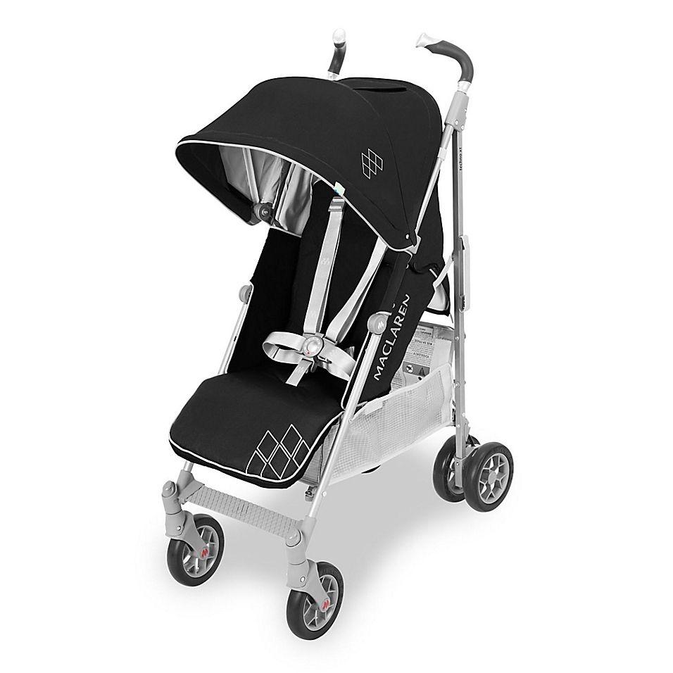 Maclaren 2018 Techno Xt Stroller In Black/silver City