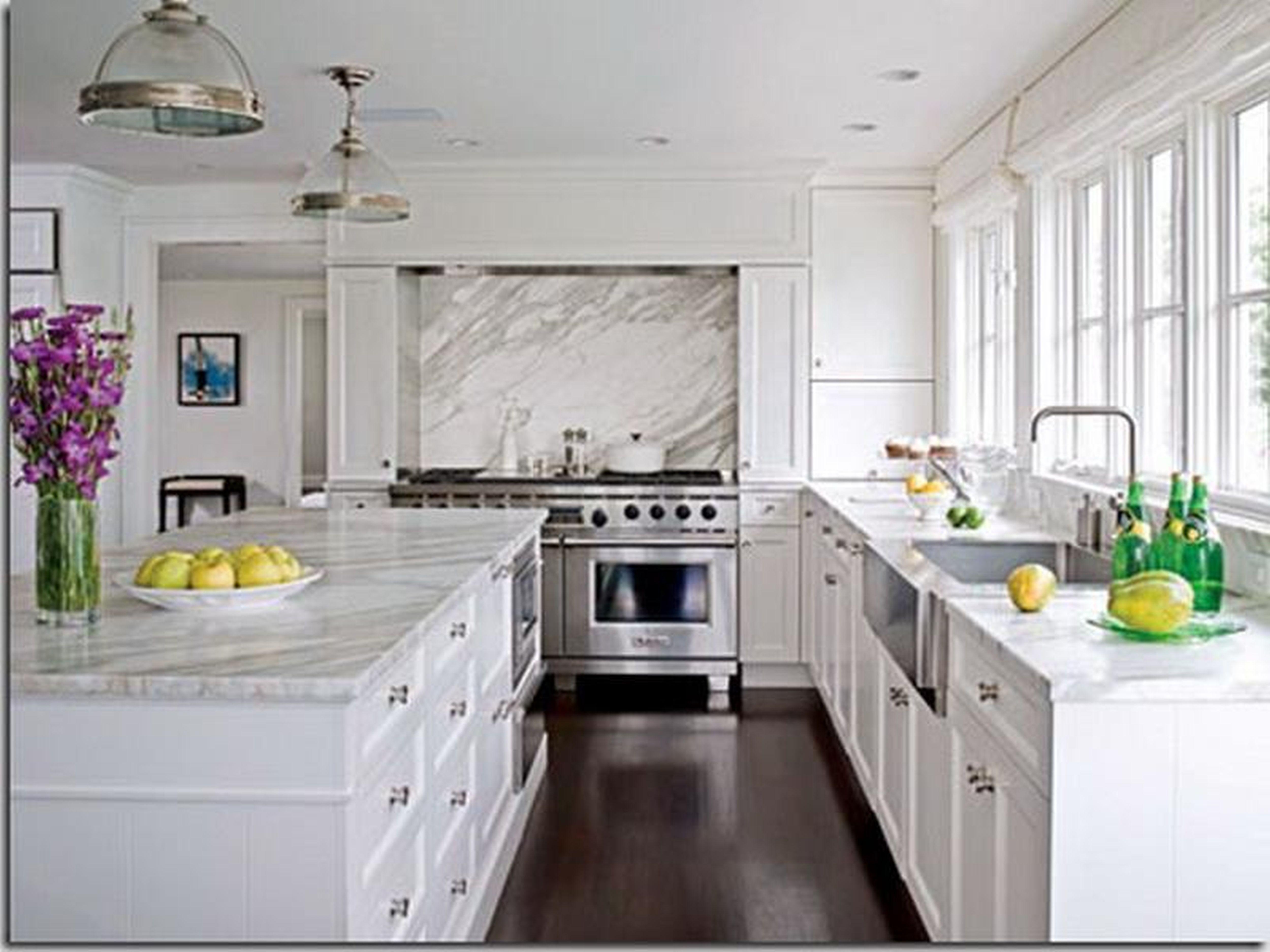 Dark Wood Kitchen 5 White Kitchen