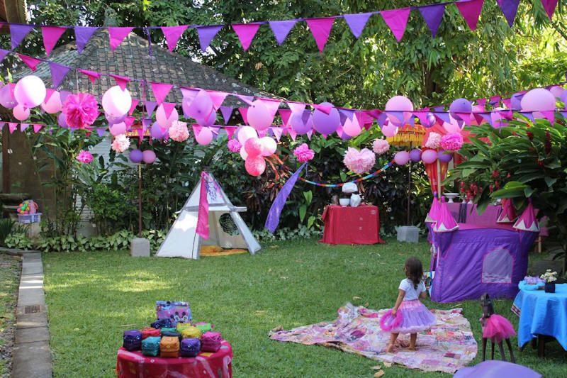 Party Decoration - Bali Kids Party