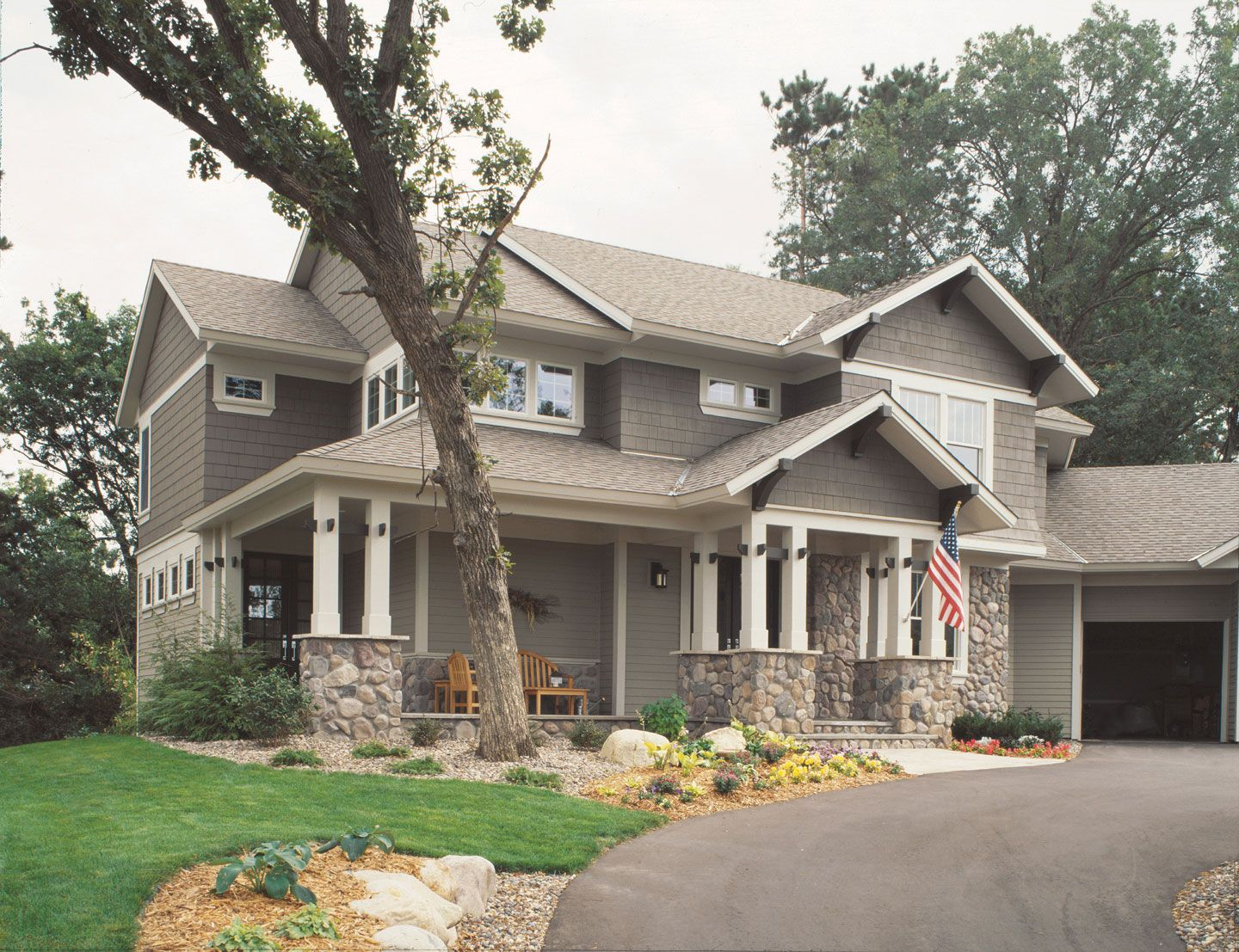Gambrel Roof Images With James Harding Siding Google Search - Home exterior design ideas siding