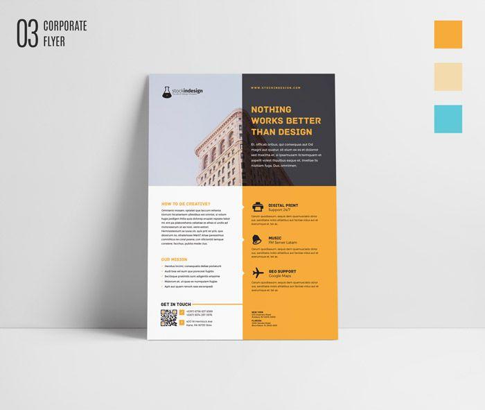 Free Indesign Bundle 10 Corporate Flyer Templates: FREE InDesign Bundle: 10 Corporate Flyer Templates (With