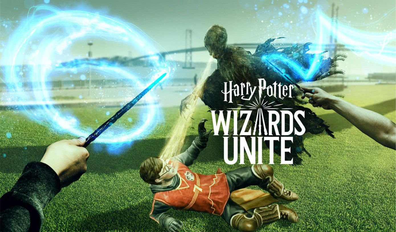 Harry Potter Wizards Unite Reaches 400k Downloads 300k In Consumer Spend In Uk And Us Techcrunch Harry Potter Wizard Niantic Harry Potter Titles