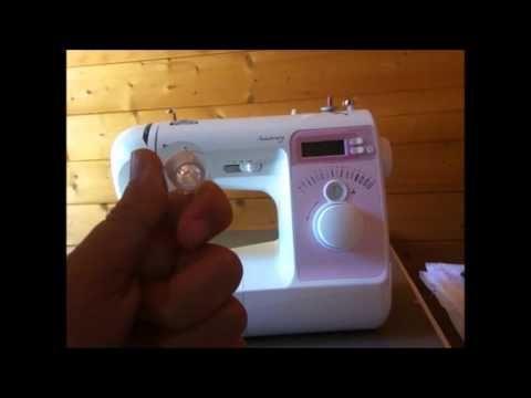 Comment enfiler une machine à coudre ?  Brother NV15