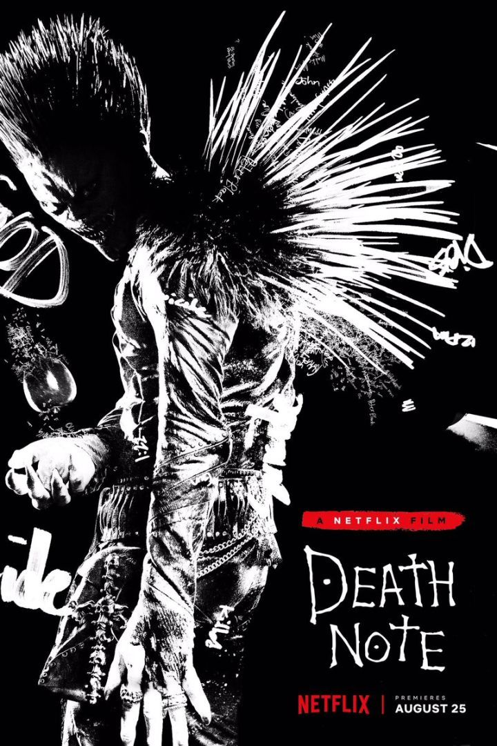death-note-ryuk-poster Filmes  TV 2 Pinterest Death note - death note