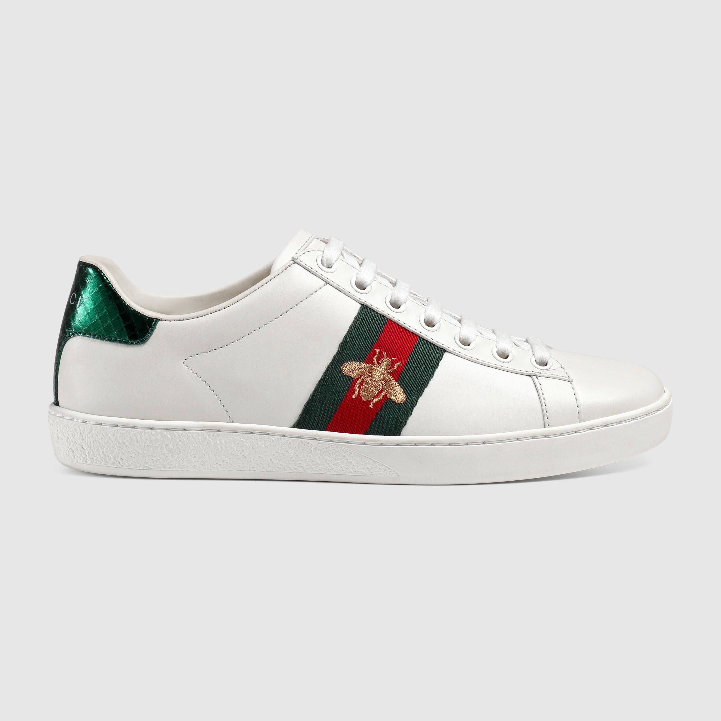 Classic lux sneakers    Gucci Ace embroidered sneaker 39a4a21d2e2
