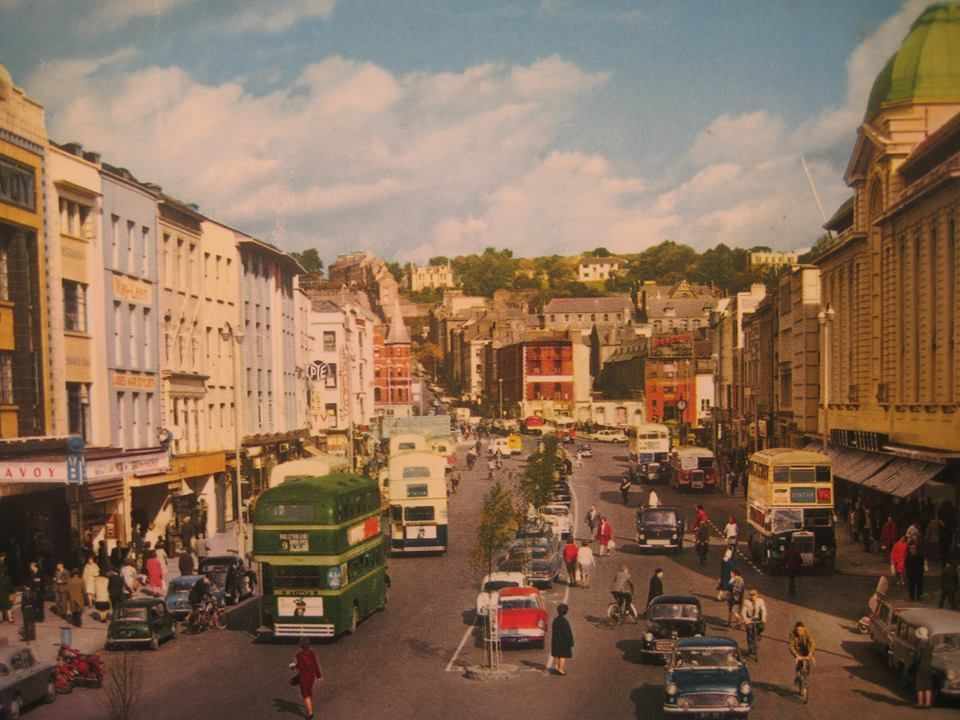 Cork city: Patrick's Street, c. 1974 | Cork city ireland, Cork city, Visit  ireland