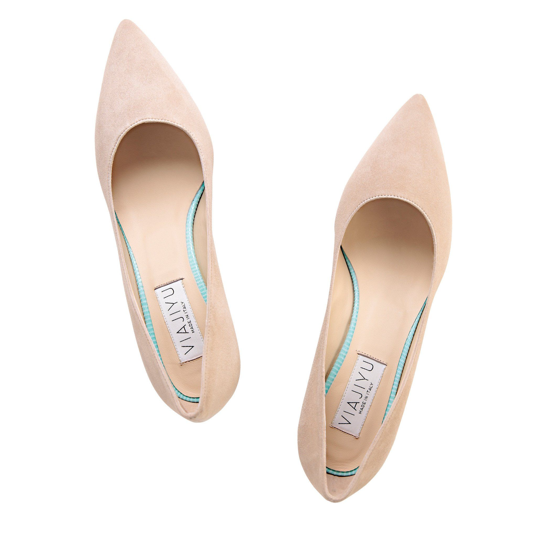 49d660263a7aa6 Pointed Toe Wedge - Velukid Tan with Varanus Mint Wedge, Handmade in Italy  --next-- VIAJIYU's Trento is the latest pointed toe style in our collection.