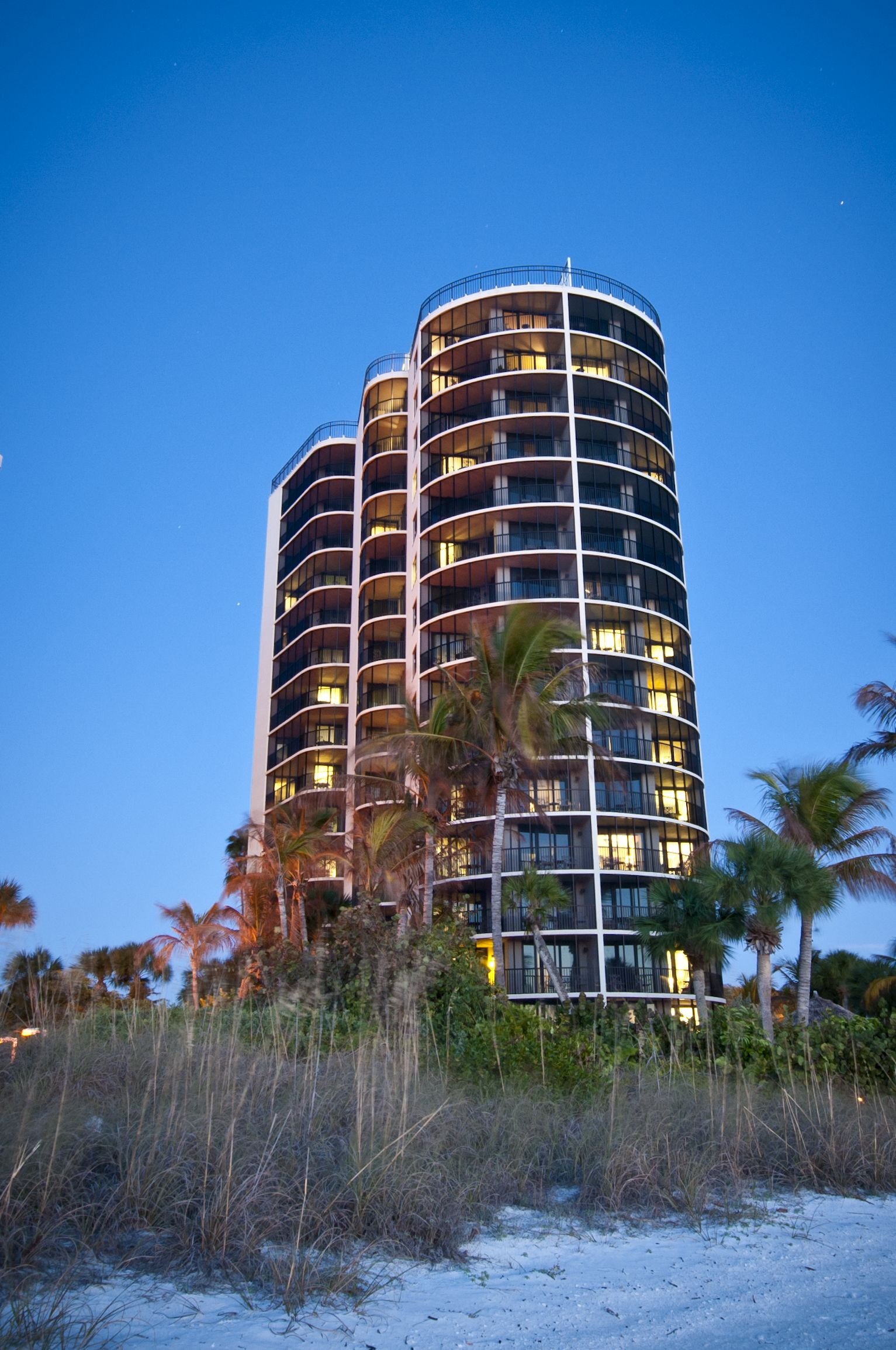Large Balconies Offer Stunning Beach And Gulf Views At Pointe Estero Resort On Fort Myers