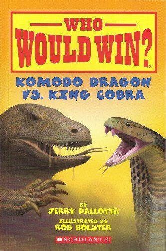 Komodo Dragon vs. King Cobra (Paperback)