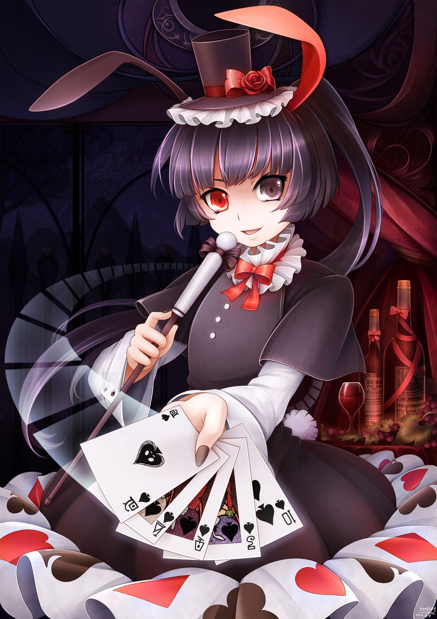 anime heterochromia / odd eyes red grey | Heterochromia ...