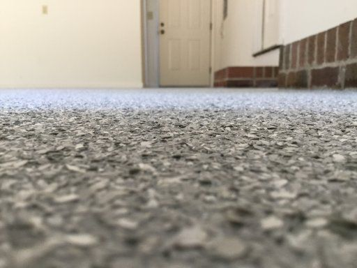 Concrete Conversions Epoxy Gray Flake Garage Finish Pinehurst Nc Pinehurst Epoxy Garage Floor