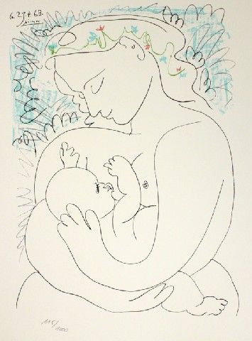 Picasso Maternité | 2018 | Pinterest | Picasso, Picasso drawing and ...