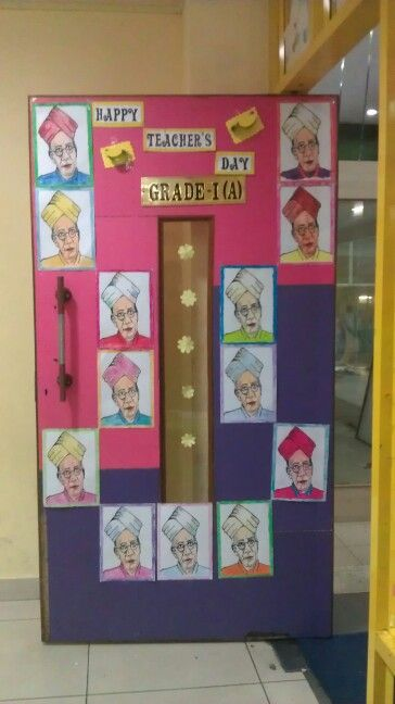 Door Decorations For Teachers Day Flisol Home