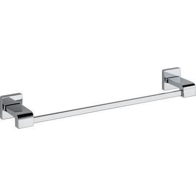Delta Arzo 18 Inch Towel Bar In Chrome 77518 Home Depot