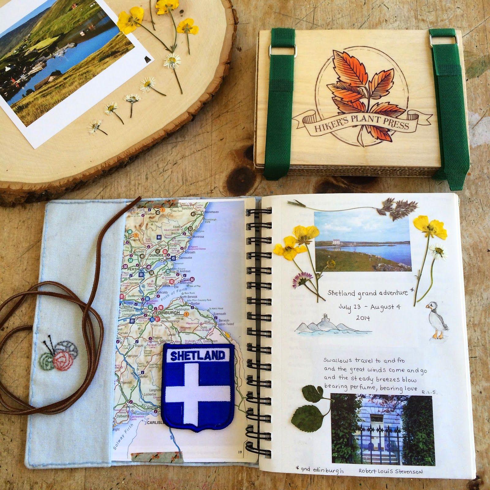 lori times five Hiker's Plant Press - Nature's Pressed