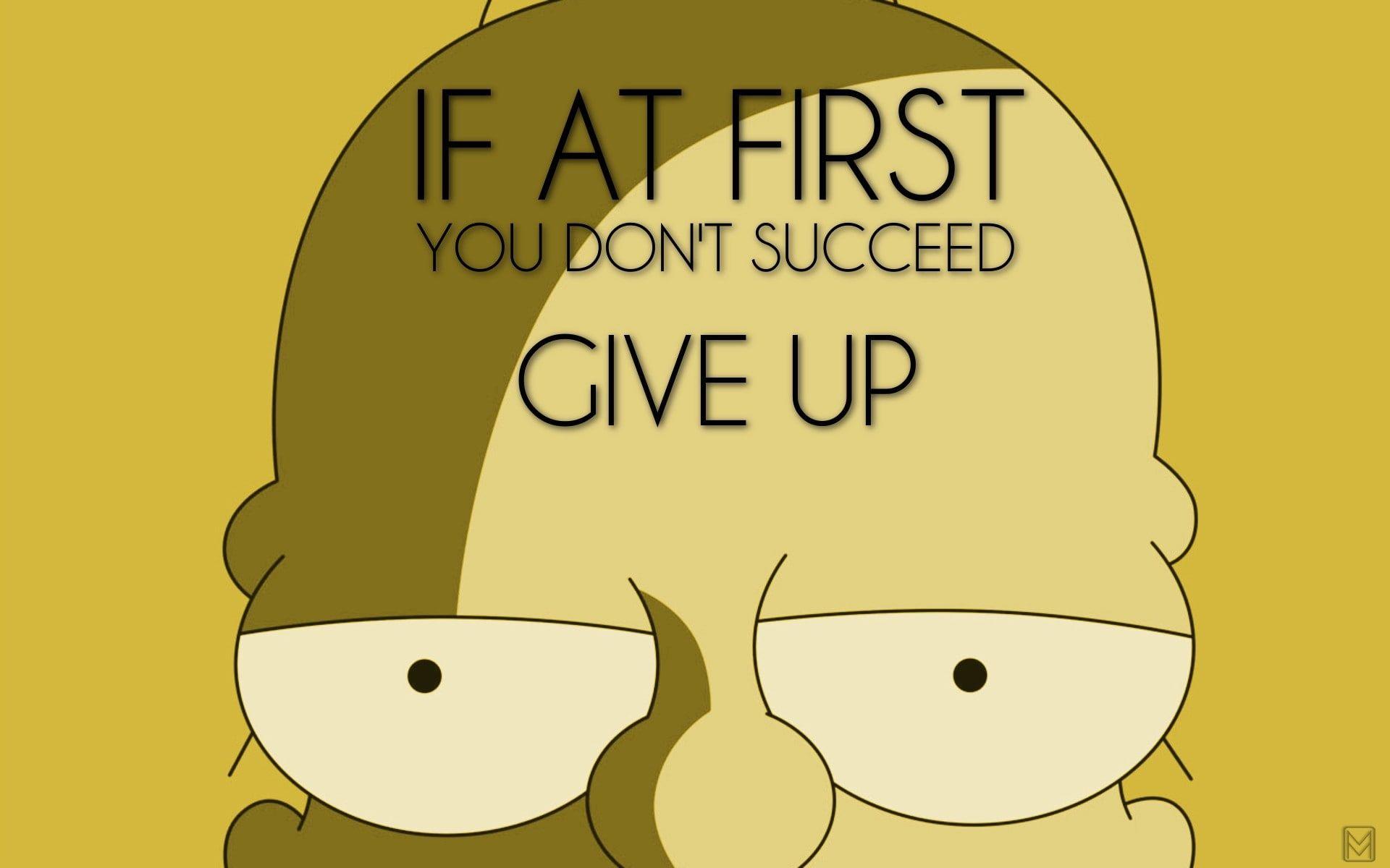 Humor Homer Simpson 1080p Wallpaper Hdwallpaper Desktop Homer Simpson Funny Simpsons Funny Homer Simpson Quotes