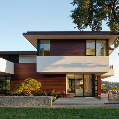 Encuentra aqu ideas de una fachada de una casa moderna for Mejores fachadas de casas modernas