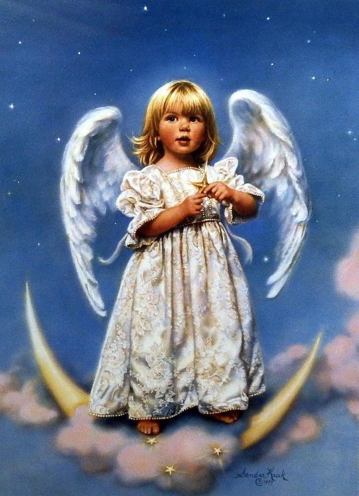 Открытка ангел хранитель с детьми, добрым утром зимние