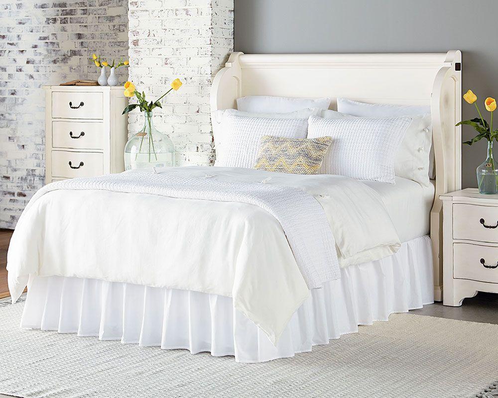 Magnolia Home - Church Pew Bedroom