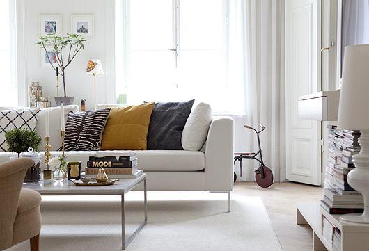 Witte Zweedse Woonkamer : Zweedse woonkamer woongelukkig living room living room