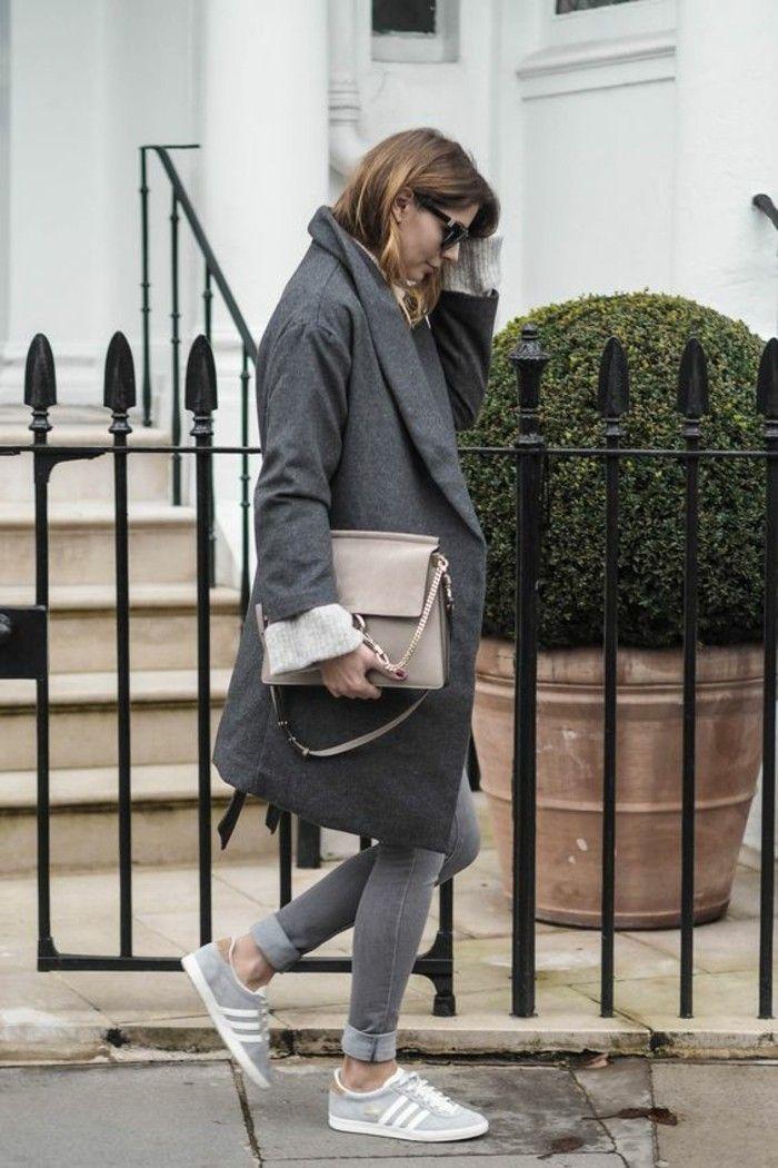 Womit lässt sich ein grauer Mantel kombinieren? | Fashion ...