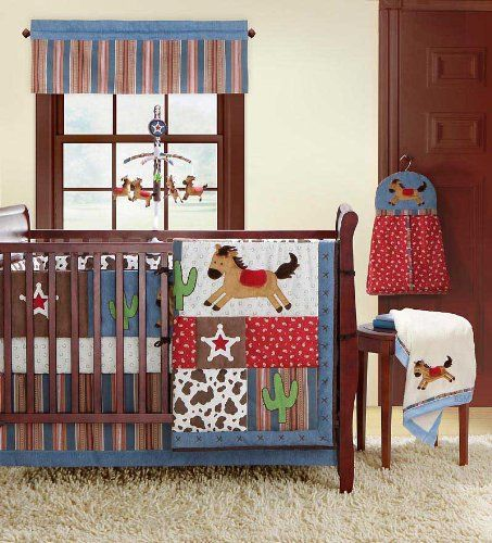 Western Cowboy Bedding Piece Cowboy Baby Bedding Set
