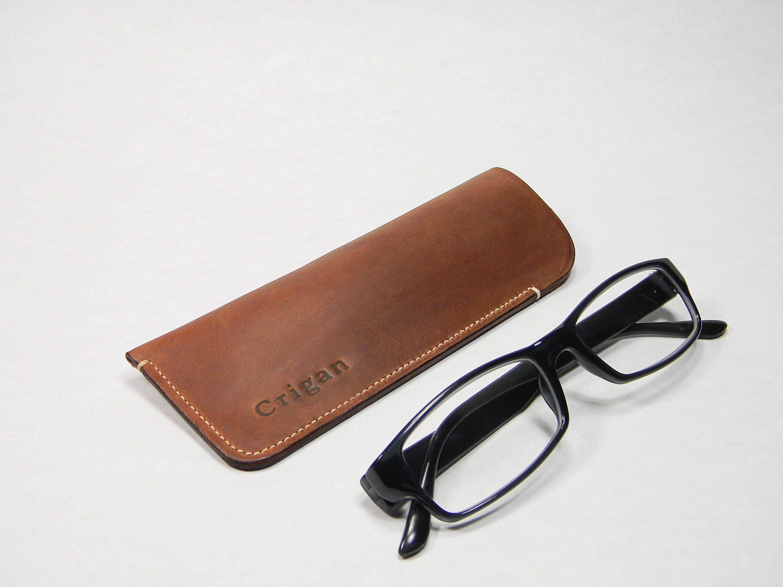 Glasses Case Leather Case Eyeglasses Case Sunglasses Case Glasses Holder Personalized Glasses Case Eyeglass Cases Cus Glasses Case Sunglasses Case Leather Case