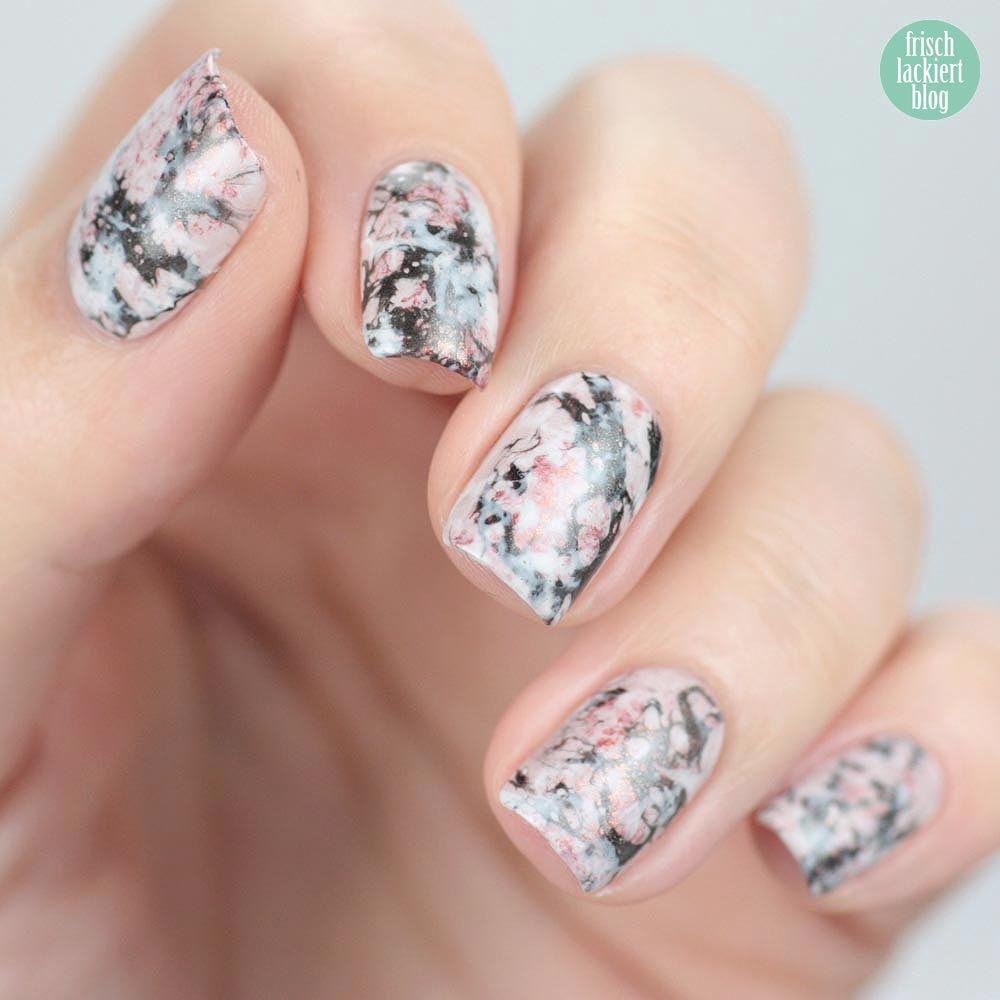 Marmor Stone Marble Nailart – by frischlackiert | Lara\'s fancy nails ...