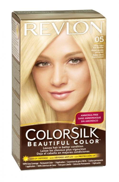Revlon Colorsilk Hair Colour 05 Ultra Light Ash Blonde Revlon