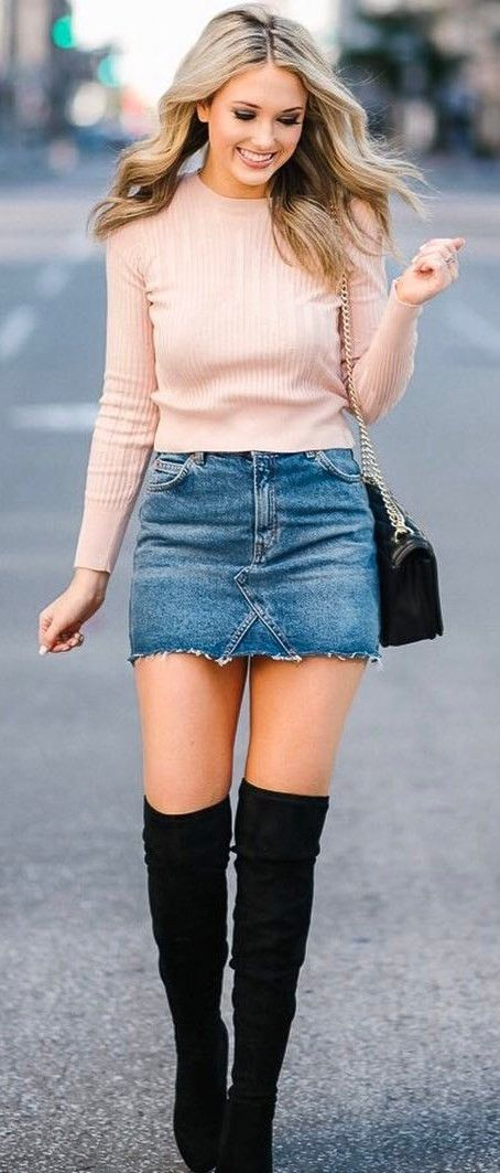751f0595e 30+ Awesome Outfit Ideas On How To Wear Sweaters | Cute outfits ...