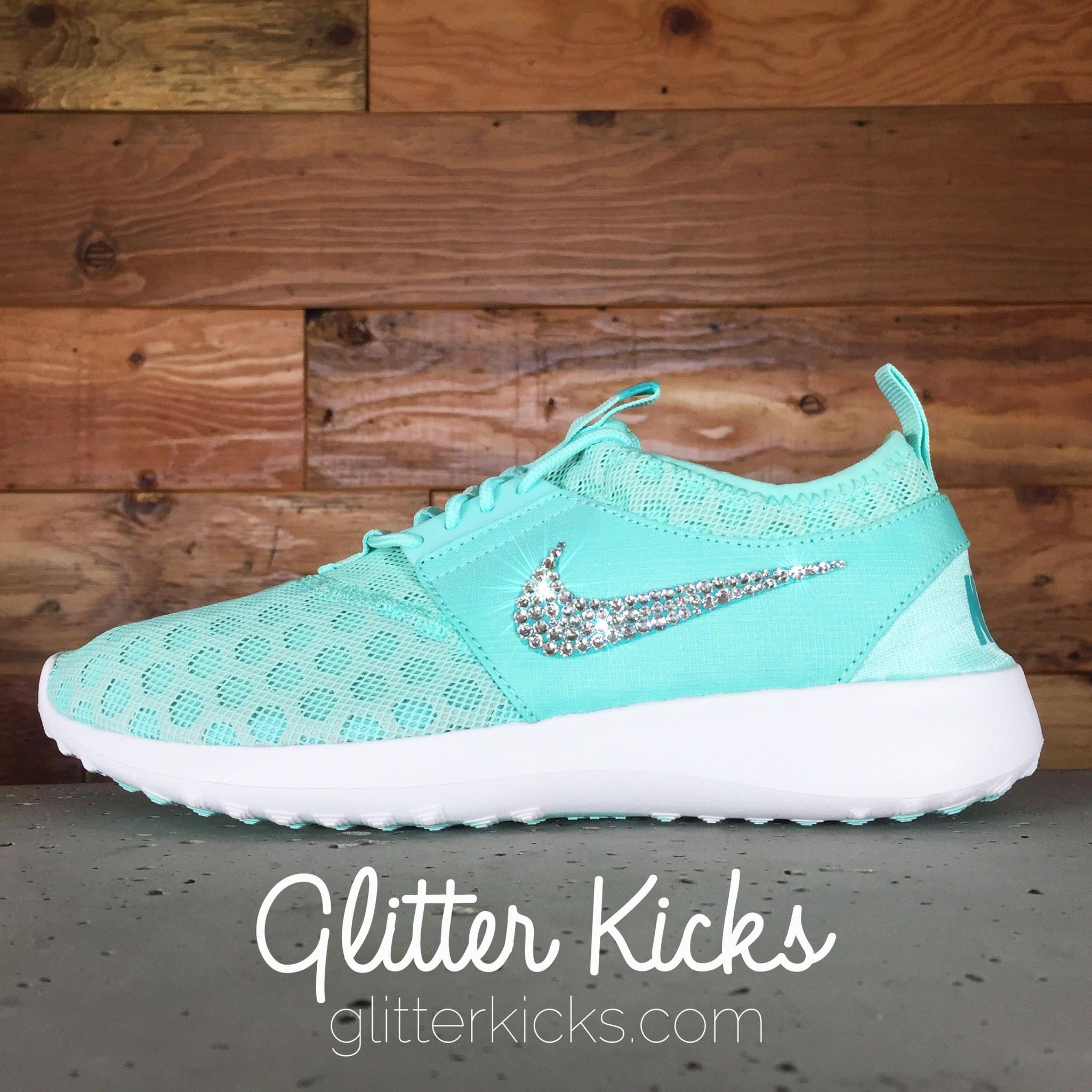 brand new c112c 664b0 Women's Nike Juvenate Running Shoes By Glitter Kicks ...