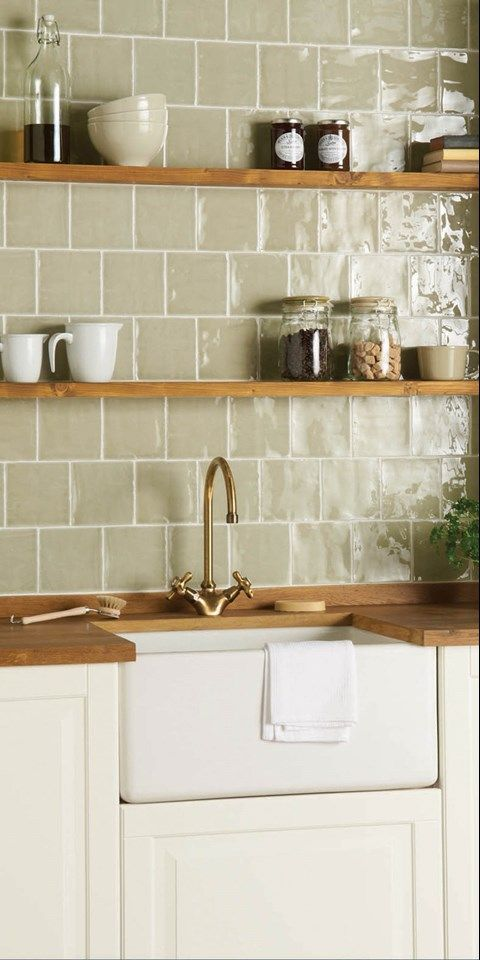 Traditional & Classic Kitchen Tile Ideas