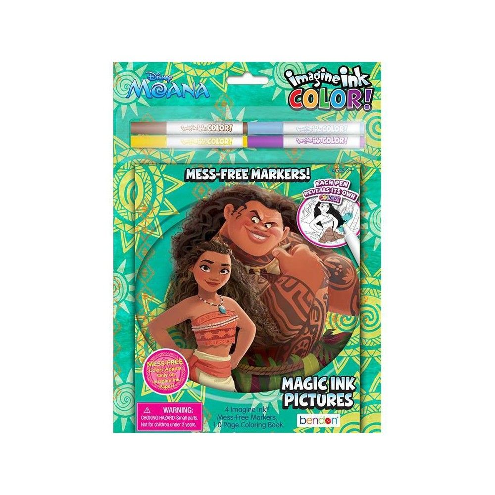 Moana Imagine Ink Color In 2020 Coloring Books Ink Color Ink