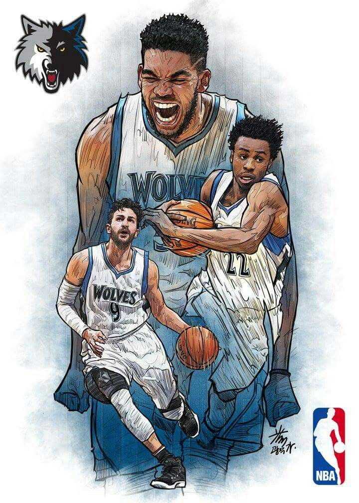 Northwest Minnesota Timberwolves Nba Basketball Art Nba Art Nba Artwork