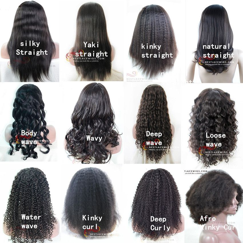 Various Hairstyle In Bestlacewigs Com Which One Is Your Favorite Go Get One For Your X Mas Bestlacewi Curly Hair Types Curly Hair Styles Weave Hairstyles