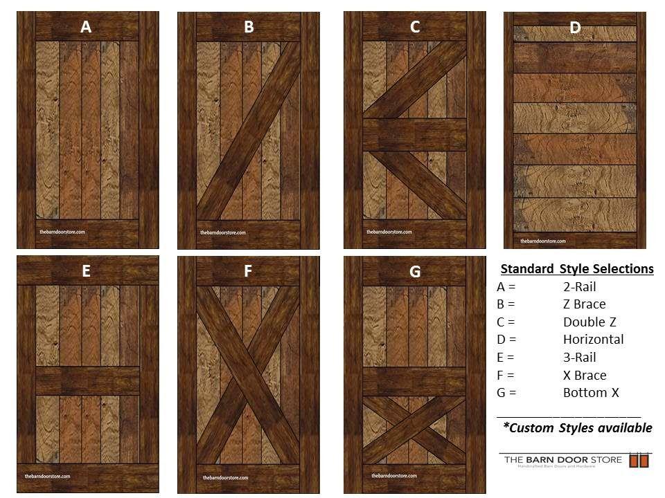 Arizona Barn Doors Door Style Selection Guide