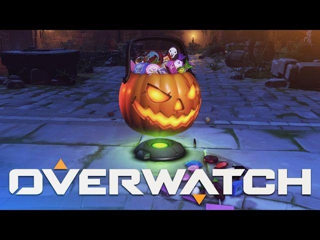 Overwatch - Halloween Loot Box Opening - Video --> http://www ...
