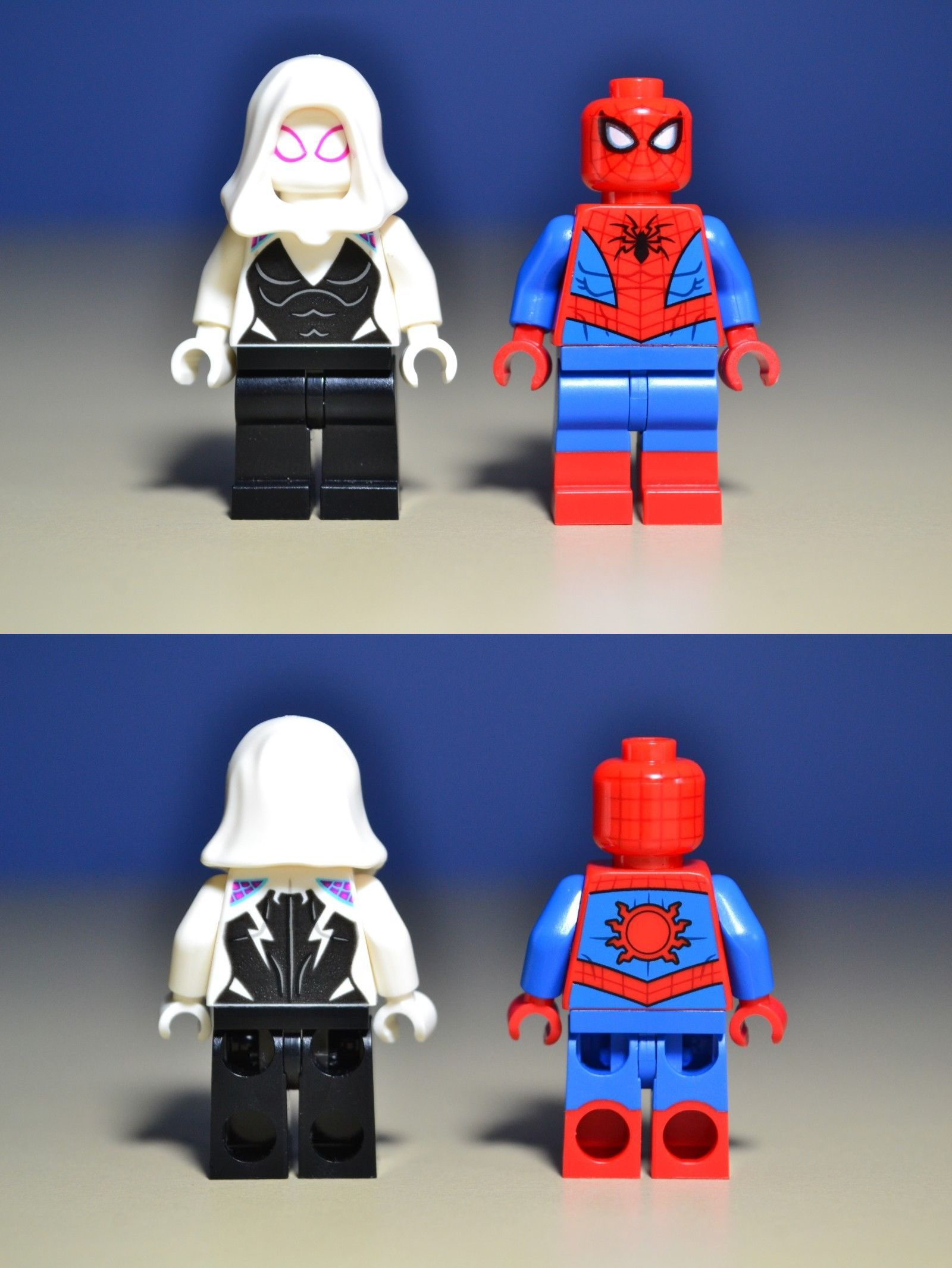 Into the Spider Man Verse Gwen Custom Lego Minifigures Spiderman Minifigure