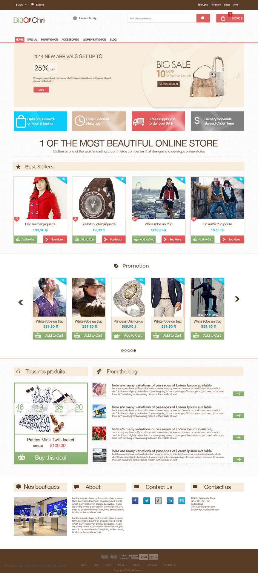 Free E Commerce Psd Template Free Psd Web Design Free Ecommerce