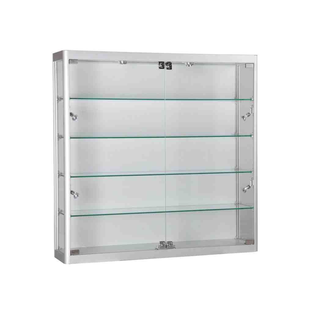 Locking Glass Cabinet Wall Display Cabinet Wall Mounted Display