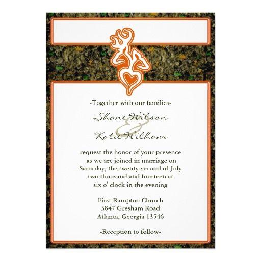 Browning buckshot formal invites