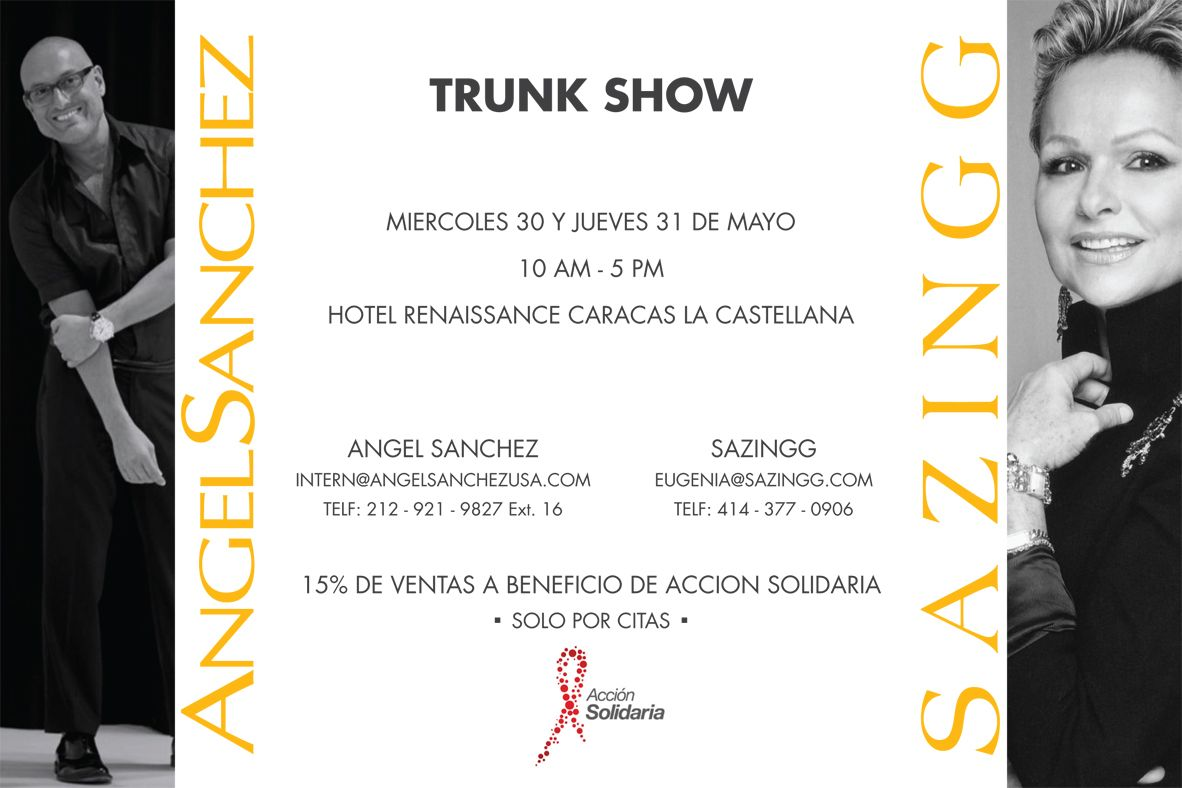 trunk show invitation Google Search invitation design