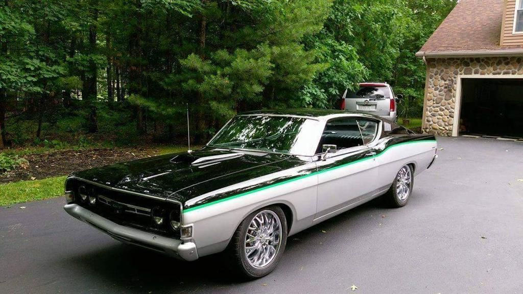 1968 custom ford torino gt 38000 by magnusson classic