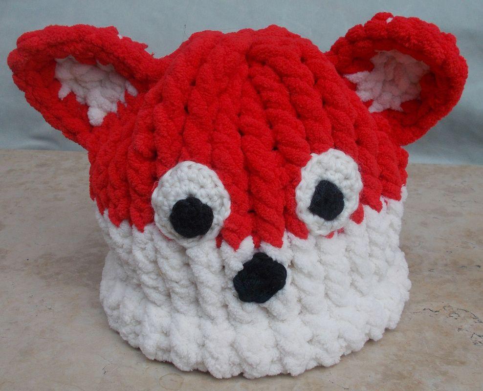 fox hat, circular knitting loom | Hats | Pinterest | Loom knitting ...