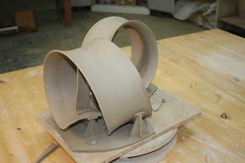 Thin Ceramic Sculptures