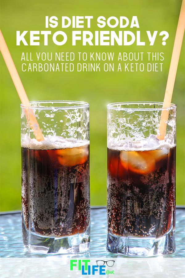 keto diet with diet soda