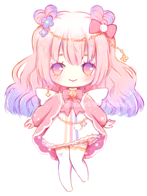 [OPEN] Cotton Candy Cupid ~ Adopt Auction by deency