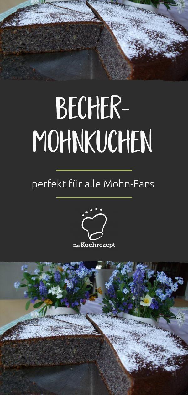 Becher-Mohnkuchen